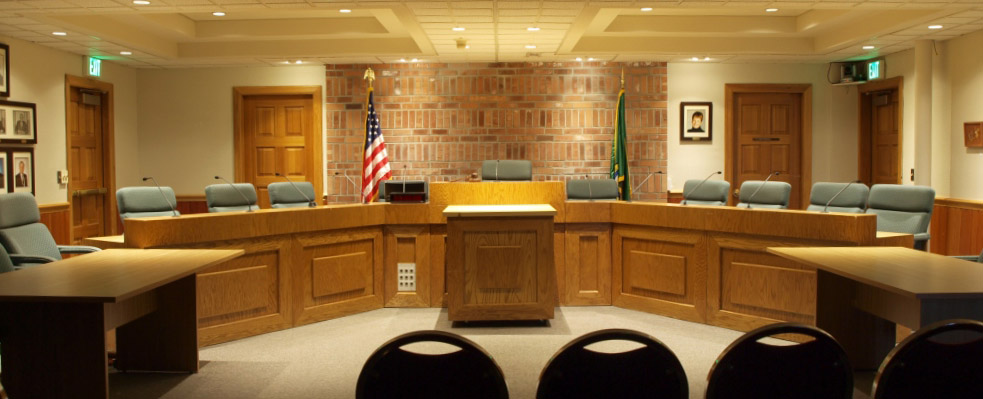 Enumclaw court room