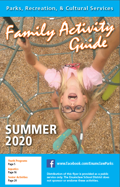 2020 Summer Activity Guide