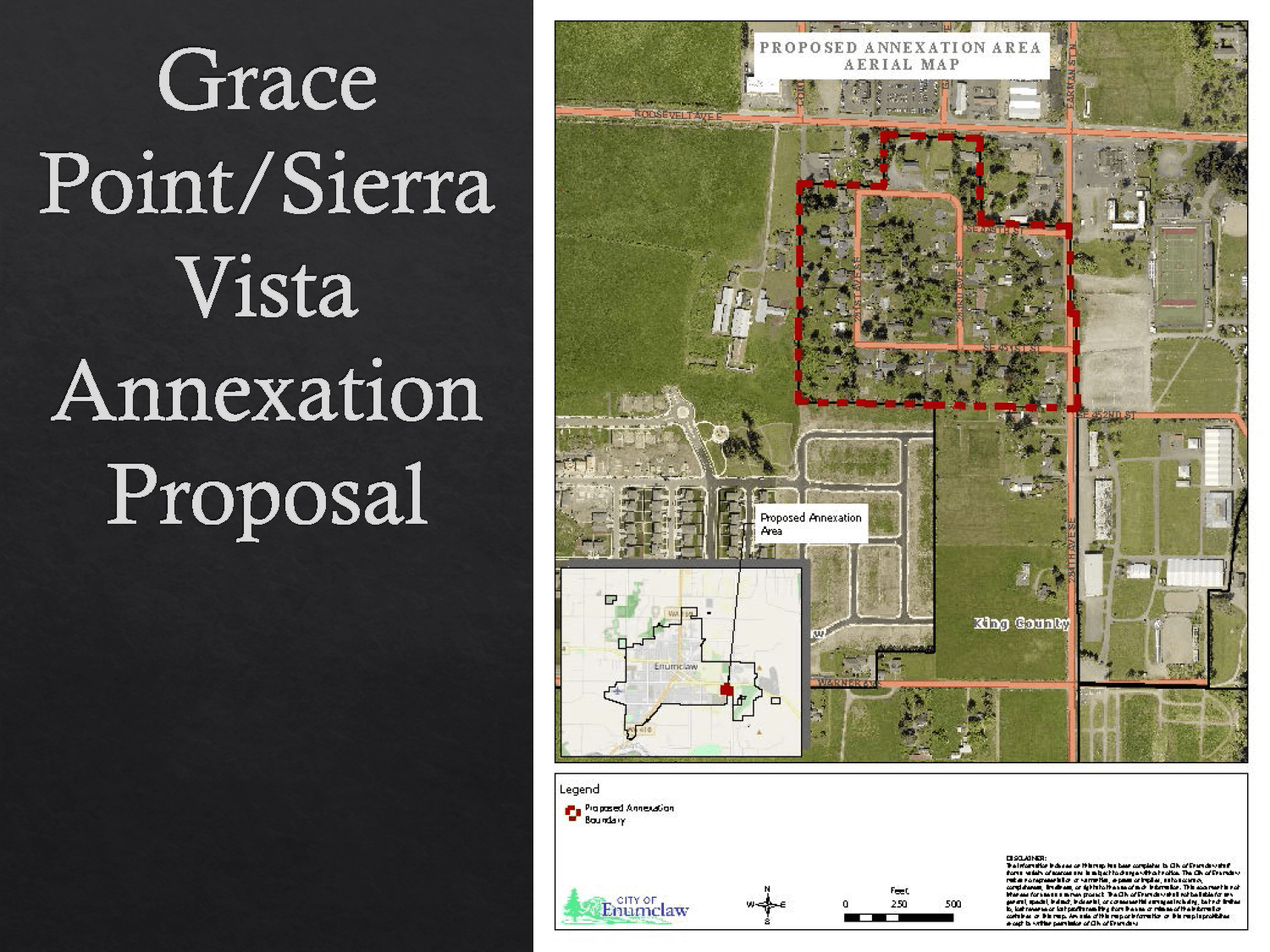 GracePoint-SierraVista Annexation Proposal